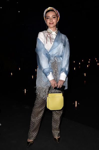 Yellow「Prada -Arrivals and Front Row: Milan Fashion Week Fall/Winter 2019/20」:写真・画像(7)[壁紙.com]