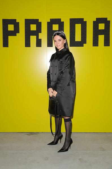 Headband「Prada -Arrivals and Front Row: Milan Fashion Week Fall/Winter 2019/20」:写真・画像(16)[壁紙.com]