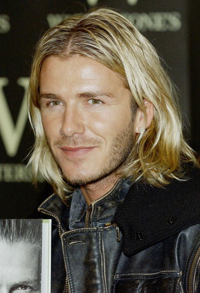 Long Hair「David Beckham Book Signing」:写真・画像(13)[壁紙.com]