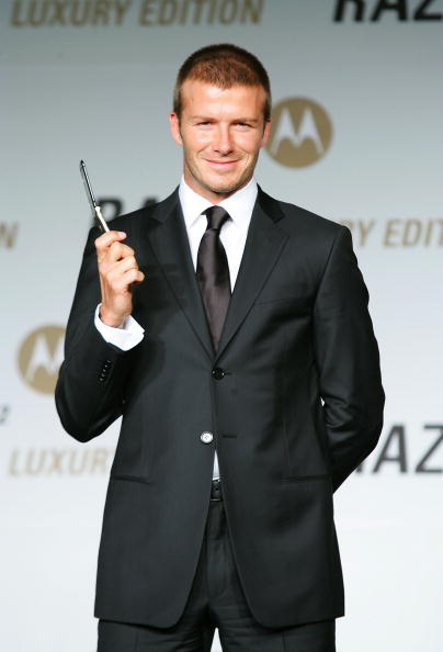 Wireless Technology「David Beckham Attends Motorola Press Conference」:写真・画像(5)[壁紙.com]