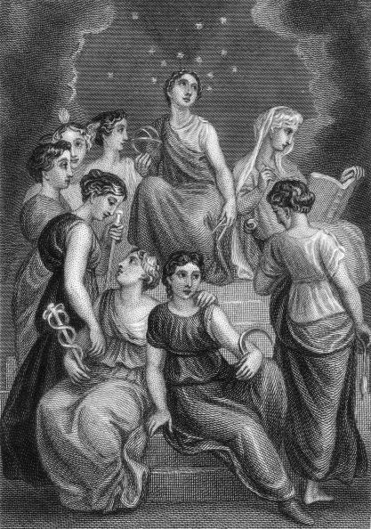 Greek Culture「Nine Muses」:写真・画像(12)[壁紙.com]