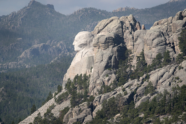 Keystone「Mount Rushmore National Memorial And Keystone, South Dakota Prepare To Host President Trump」:写真・画像(7)[壁紙.com]