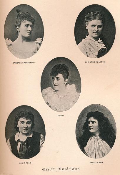 女性歌手「Great Musicians - Plate Xii, C1890, (1895)」:写真・画像(10)[壁紙.com]