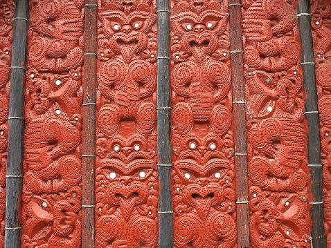 New Zealand Culture「Maori art in Te Puia」:スマホ壁紙(6)
