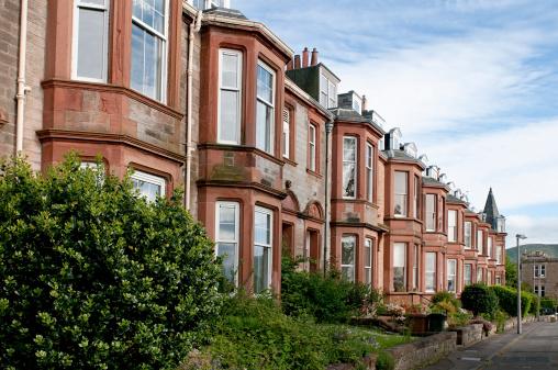 スコットランド文化「エジンバラ住宅のご宿泊」:スマホ壁紙(8)