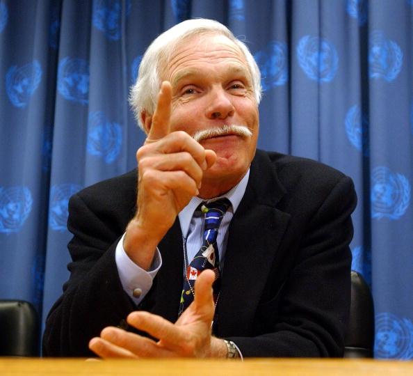 United Nations Building「Ted Turner Speaks At United Nations」:写真・画像(4)[壁紙.com]