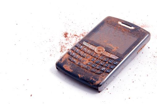 Lost「Ruined Smartphone」:スマホ壁紙(9)