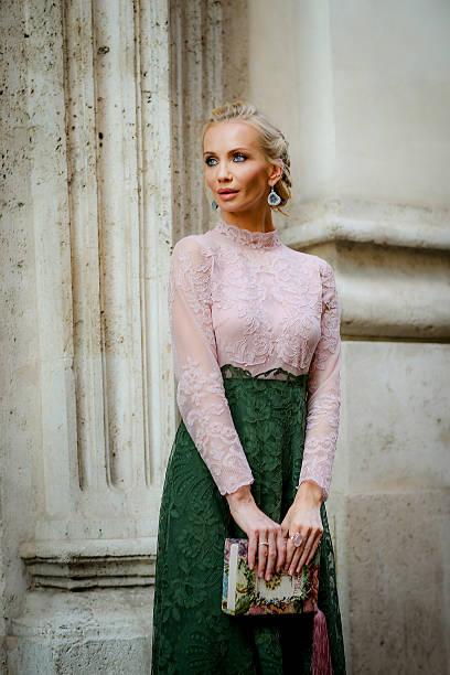 Tatiana Korsakova Attends Valentino Show In Rome:ニュース(壁紙.com)