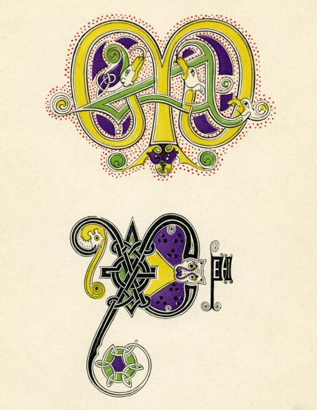 Monogram「Seventh- and eighth- century monograms」:写真・画像(1)[壁紙.com]