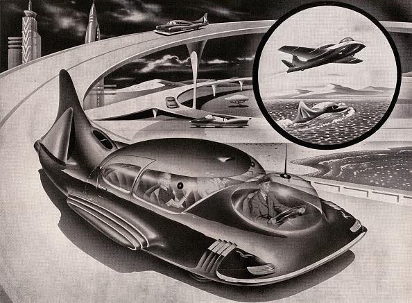 Transportation「Futuristic Car」:写真・画像(1)[壁紙.com]