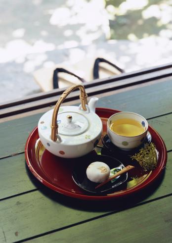 Wagashi「Japanese Green Tea and Japanese Sweet」:スマホ壁紙(11)