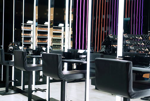 Choosing「Make-up store」:スマホ壁紙(17)