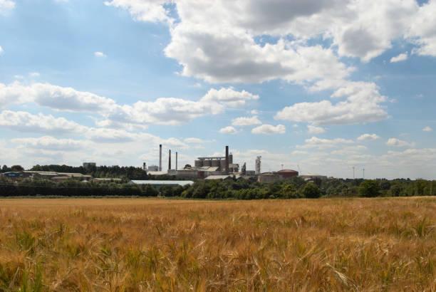 Sugar plant factory at Bury St Edmonds, Suffolk, UK:ニュース(壁紙.com)