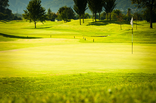 Putting - Golf「putting green on golf course Locarno, Switzerland」:スマホ壁紙(12)