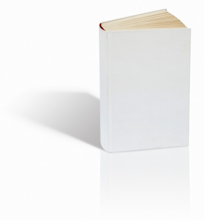 Hardcover Book「Blank book on white background」:スマホ壁紙(5)