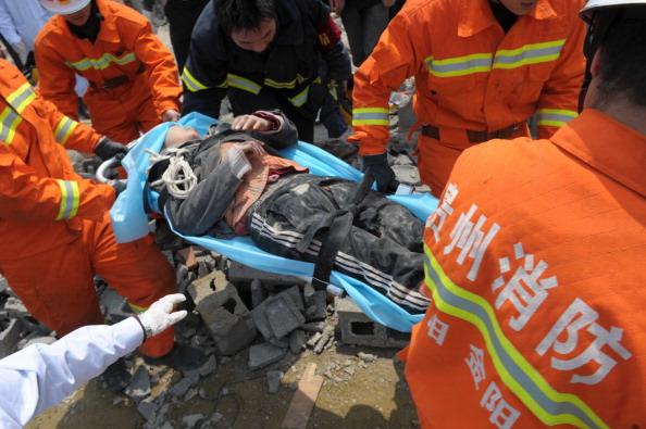 VCG「Nine Dead In Building Collapse In Guiyang」:写真・画像(3)[壁紙.com]
