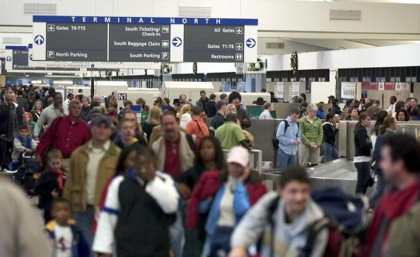 Hartsfield-Jackson Atlanta International Airport「Throngs Of Travelers Return From Holiday Weekend」:写真・画像(19)[壁紙.com]