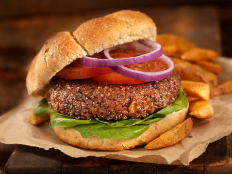 Veggie Burger「The Quinoa Burger」:スマホ壁紙(1)