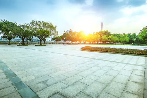 Town Square「Pearl River New Town in Guangzhou City,Guangdong Province,China」:スマホ壁紙(7)