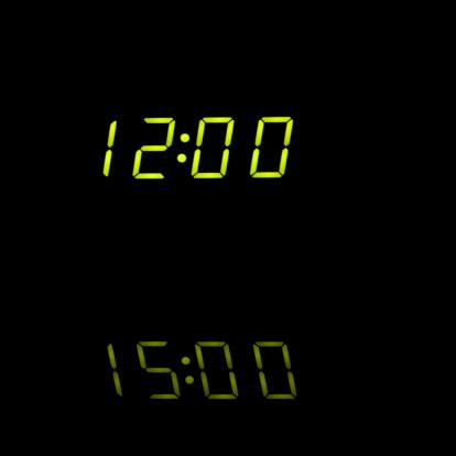 Zero「Alarm Clock Closeup - Midnight, Black Background」:スマホ壁紙(18)