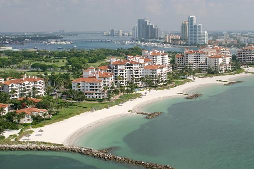 Miami Beach「フィッシャーアイランドとサウスビーチ」:スマホ壁紙(13)