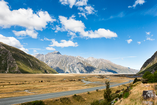 Mt Cook「Mount Cook Range of the Southern Alps in New Zealand」:スマホ壁紙(16)