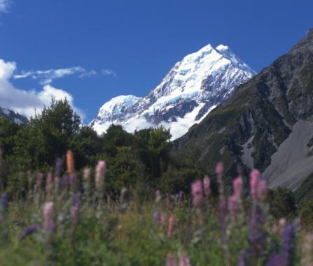 Mt Cook「Mount Cook, New Zealand」:スマホ壁紙(11)