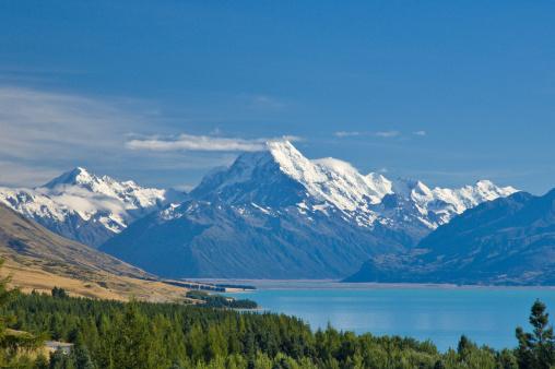 Mt Cook「Mount Cook and Lake Pukaki , New Zealand」:スマホ壁紙(19)