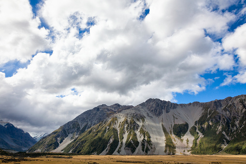 Mt Cook「Mount Cook of the Southern Alps in New Zealand」:スマホ壁紙(12)