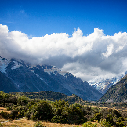 Mt Cook「Mount Cook of the Southern Alps in New Zealand」:スマホ壁紙(18)