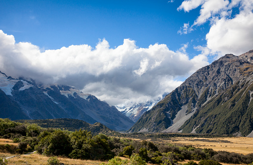 Mt Cook「Mount Cook of the Southern Alps in New Zealand」:スマホ壁紙(11)