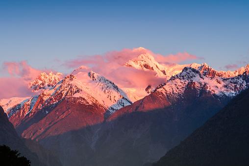 Westland - South Island New Zealand「Mount Cook, South Island, New Zealand.」:スマホ壁紙(17)