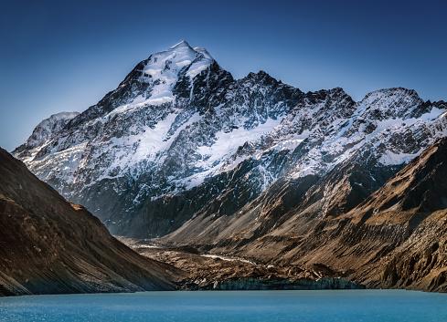 Mt Cook「Mount Cook, South Island, New Zealand」:スマホ壁紙(14)