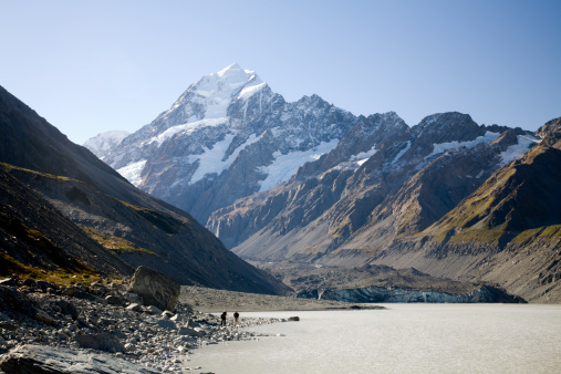 Mt Cook「Mount Cook leadning to mount Aoraki, Cook National Park, South Island, New Zealand」:スマホ壁紙(7)