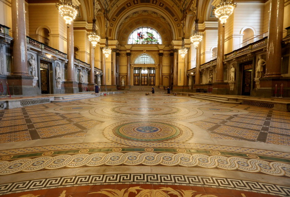 Tiled Floor「St Georges's Hall Liverpool」:写真・画像(9)[壁紙.com]