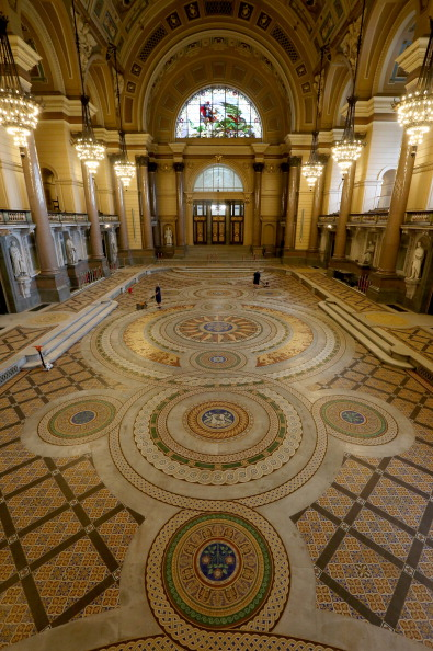 Tiled Floor「St Georges's Hall Liverpool」:写真・画像(6)[壁紙.com]