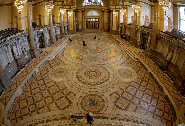 Tiled Floor「St Georges's Hall Liverpool」:写真・画像(7)[壁紙.com]