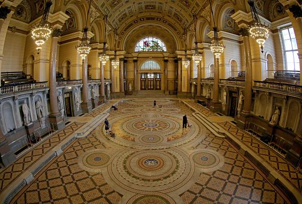 Tiled Floor「St Georges's Hall Liverpool」:写真・画像(16)[壁紙.com]