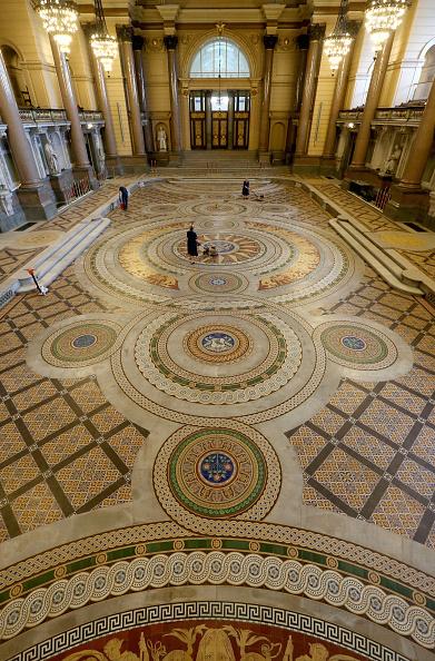 Tiled Floor「St Georges's Hall Liverpool」:写真・画像(18)[壁紙.com]