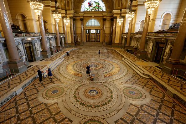 Tiled Floor「St Georges's Hall Liverpool」:写真・画像(17)[壁紙.com]