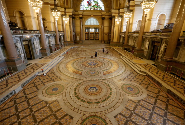 Tiled Floor「St Georges's Hall Liverpool」:写真・画像(10)[壁紙.com]