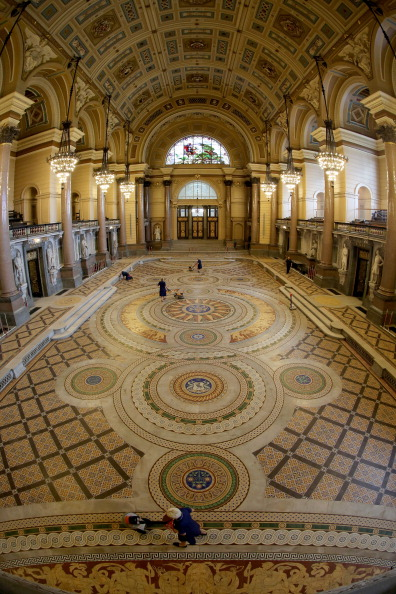 Tiled Floor「St Georges's Hall Liverpool」:写真・画像(15)[壁紙.com]