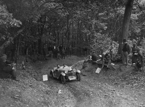 Steep「Riley Lynx taking part in a motoring trial, c1930s」:写真・画像(19)[壁紙.com]