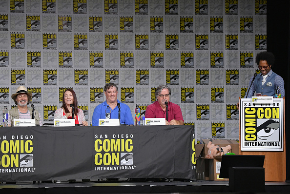 "David Silverman「Comic-Con International 2018 - ""The Simpsons"" Panel」:写真・画像(6)[壁紙.com]"