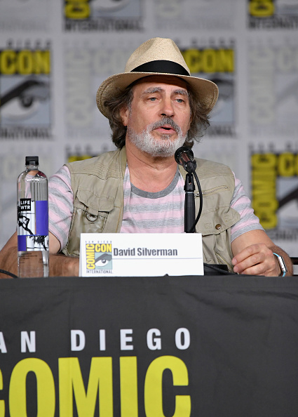 "David Silverman「Comic-Con International 2018 - ""The Simpsons"" Panel」:写真・画像(5)[壁紙.com]"