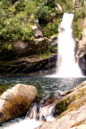 New Zealand Culture「Wainui Falls, Golden Bay, New Zealand」:スマホ壁紙(7)