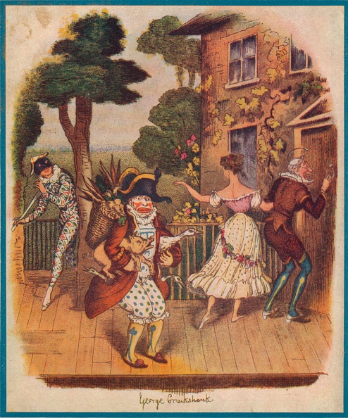 Cartoon「Mr Punch (Or Pulcinella) And Other Commedia Dellarte Characters」:写真・画像(4)[壁紙.com]