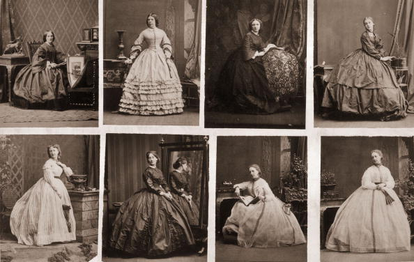 19th Century「Crinolines」:写真・画像(0)[壁紙.com]