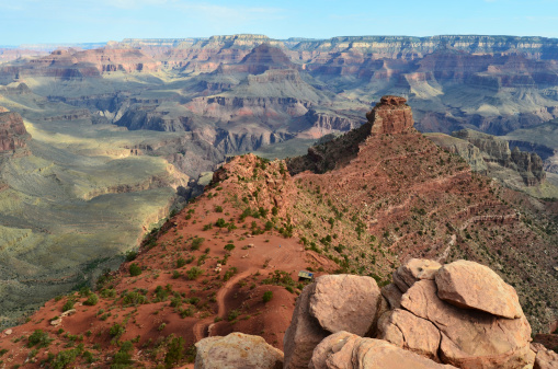 Kaibab National Forest「Grand Canyon South Kaibab Trail Cedar Ridge Overlook」:スマホ壁紙(3)