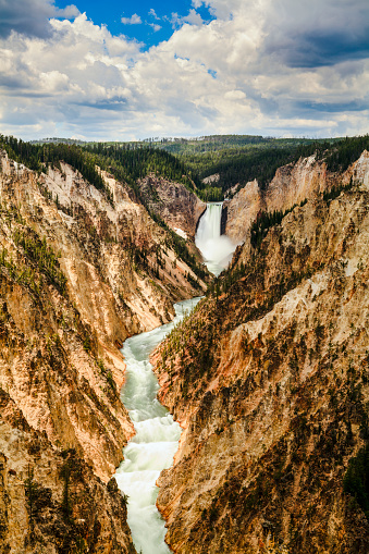 UNESCO「Grand Canyon and Lower Yellowstone Falls, Yellowstone National Park」:スマホ壁紙(14)